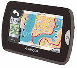 """4300B 4.3"""" GPS In-Car Navigation System w/ Bluetooth Hands Free Calling"""