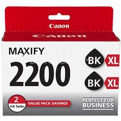 MAXIFY PGI-2200 XL Black Pigment Ink Twin Pack