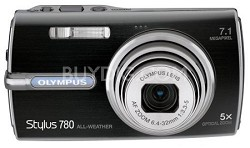 Stylus 780 7.1 Megapixel with 5x Optical Zoom (Black)