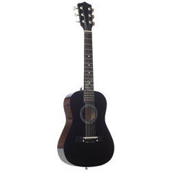 "LAPKMBL 30"" Student Acoustic/Electric Guitar Package - Metallic Black - OPEN BOX"