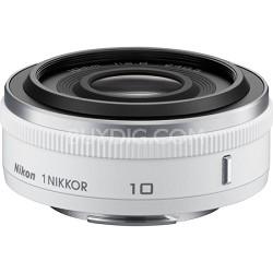 1 NIKKOR 10mm f/2.8 Lens White - Factory Refurbished