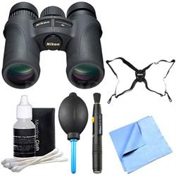 7549 Monarch 7 Binoculars 10x42 Explorer Bundle