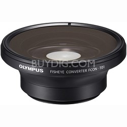 FCON-T01 Fisheye Converter for Olympus TG-1 & TG-2 (Black)