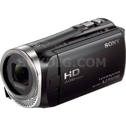 HDR-CX455/B Full HD Handycam Camcorder with Exmor R CMOS Sensor