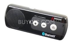 Bluetooth Wireless Handsfree Car Kit with Text to Speech Technology