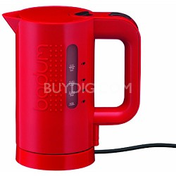 17-Ounce Electric Water Kettle, Red