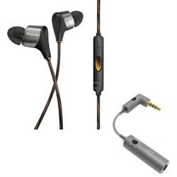 XR8i HYBRID High Clarity In-Ear Headphone (Black) - 1062168 w/ iFi Audio iEMATCH