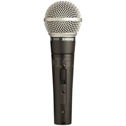 Cardioid Dynamic Microphone with On/Off Switch (SM58S)
