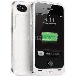 Juice Pack Plus Rechargeable Battery and Case for iPhone4 (Grey)