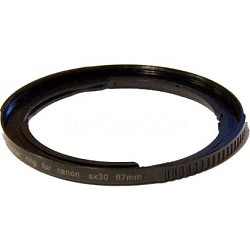 67MM ADAPTER TUBE FOR CANON SX-30 & SX-40