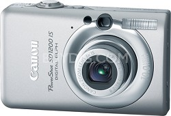 Powershot SD1200 IS 10MP Digital ELPH Camera (Silver) - REFURBISHED