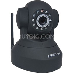 FI8918W Wireless Pan & Tilt IP/Network Cam w/Night Vision - Black