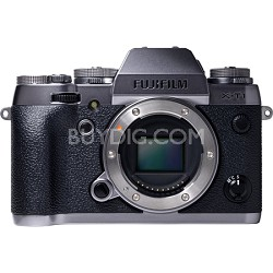 X-T1 16.3MP Full HD 1080p Graphite Silver Mirrorless Digital Camera - Body Only