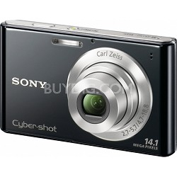 Cyber-shot DSC-W330 14MP Black Digital Camera