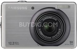 "SL620 12MP/ 5X OPT/ MPEG4 Movie/ 3.0"" LCD Digital Camera (Gray)"