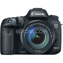 EOS 7D Mark II Digital SLR Camera with 18-135mm IS STM Lens