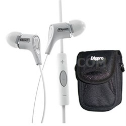 1060403 White R6i Headphone Delux Bundle