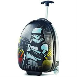 """18"""" Upright Hardside Suitcase (Star Wars Storm Trooper)"""