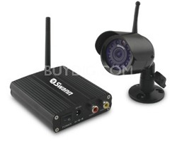 Wireless OutdoorCam Quality Surveillance with Night Vision & Audio for your home