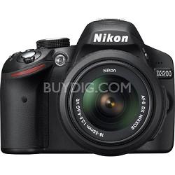 D3200 24.2 MP CMOS Digital SLR Camera with 18-55mm VR Lens (Refurbished)