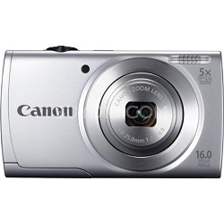 Powershot A2500 Silver 16MP Digital Camera with 5x Opt. Zoom and Smart AUTO