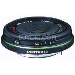 smc P-DA 40mm f/2.8 ED Digital Auto Focus Limited Edition Lens for SLR Cameras