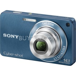 Cyber-shot DSC-W350 14.1 MP Digital Camera (Blue) - OPEN BOX
