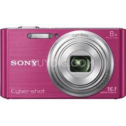 DSCW730 16 MP 2.7-Inch LCD Digital Camera - Pink