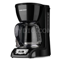 12-Cup Programmable Coffee Maker in Black - DLX1050B