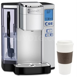SS-10 Premium Single Serve Coffeemaker w/ Copco 16oz. Reusable Mug Bundle