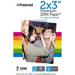 "2x3"" Premium ZINK Photo Paper - 30 Pack For Z2300"