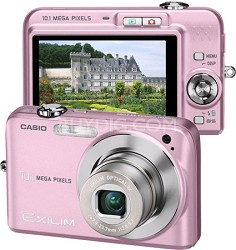 "Exilim EX-Z1080 10.1MP Digital Camera with 2.6"" LCD (Pink)"