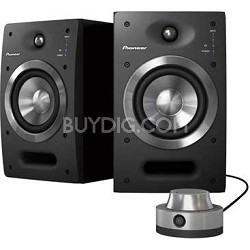 """S-DJ05 5"""" Active 2-Way Reference Monitoring Speakers (Pair)"""