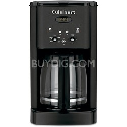 DCC-1200 12-Cup Brew Central Coffeemaker (Matte Black Metals)  Factory Refurb.