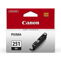 CLI-251 Black Ink Tank for PIXMA iP7220, MG5420, MG6620 Printers