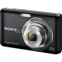 DSC-W310 Digital Camera (Black) - Open Box