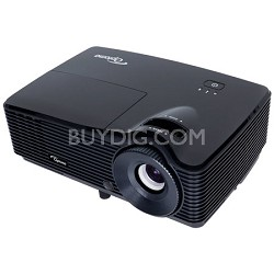 Optoma H181X Full 3D 720p 3200 Lumen DLP Home Theater Projector with 2 HDMI Ports