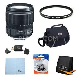 EF-S 15-85mm f/3.5-5.6 IS USM Standard Zoom Lens Exclusive Pro Kit