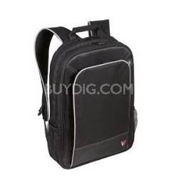 Professional Laptop Backpack 16-Inch CBP1-9N, Black with Gray Accents