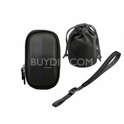 LCMEMA/B Semi-Soft Case for NEX-3 and NEX-5 Cameras (Black)
