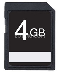 4GB SDHC Class 10 High Speed Memory Card