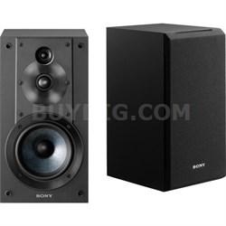 SS-CS5 3-Way 3-Driver Bass Reflex Stereo Bookshelf Speakers