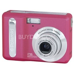 i735 7 MP Digital Camera with 3x Optical Zoom and 2.5-inch LCD Pink