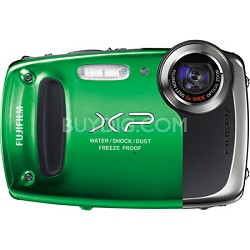 Finepix XP50 14MP CMOS Digital Camera (Green)