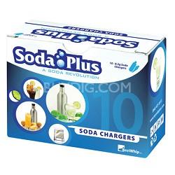 8g CO2 Soda Cartridges 10-Pack
