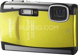 Stylus Tough 6000 10MP Shock, Water, And Freezeproof Digital Camera - OPEN BOX