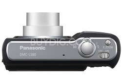 "DMC-LS80K (Black) Lumix 8 Megapixel Digital Camera w/ 3x Optical Zoom & 2.5"" LCD"
