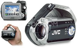 GZ-MC200 Everio Digital Media Camera with 4 GB Microdrive & 10x Optical Zoom