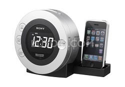 CD Clock Radio with Dock for iPod & iPhone