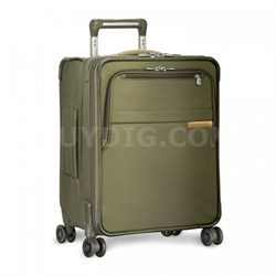 "Baseline 21"" International Carry-On Luggage Spinner - Olive U121CXSPW-7"